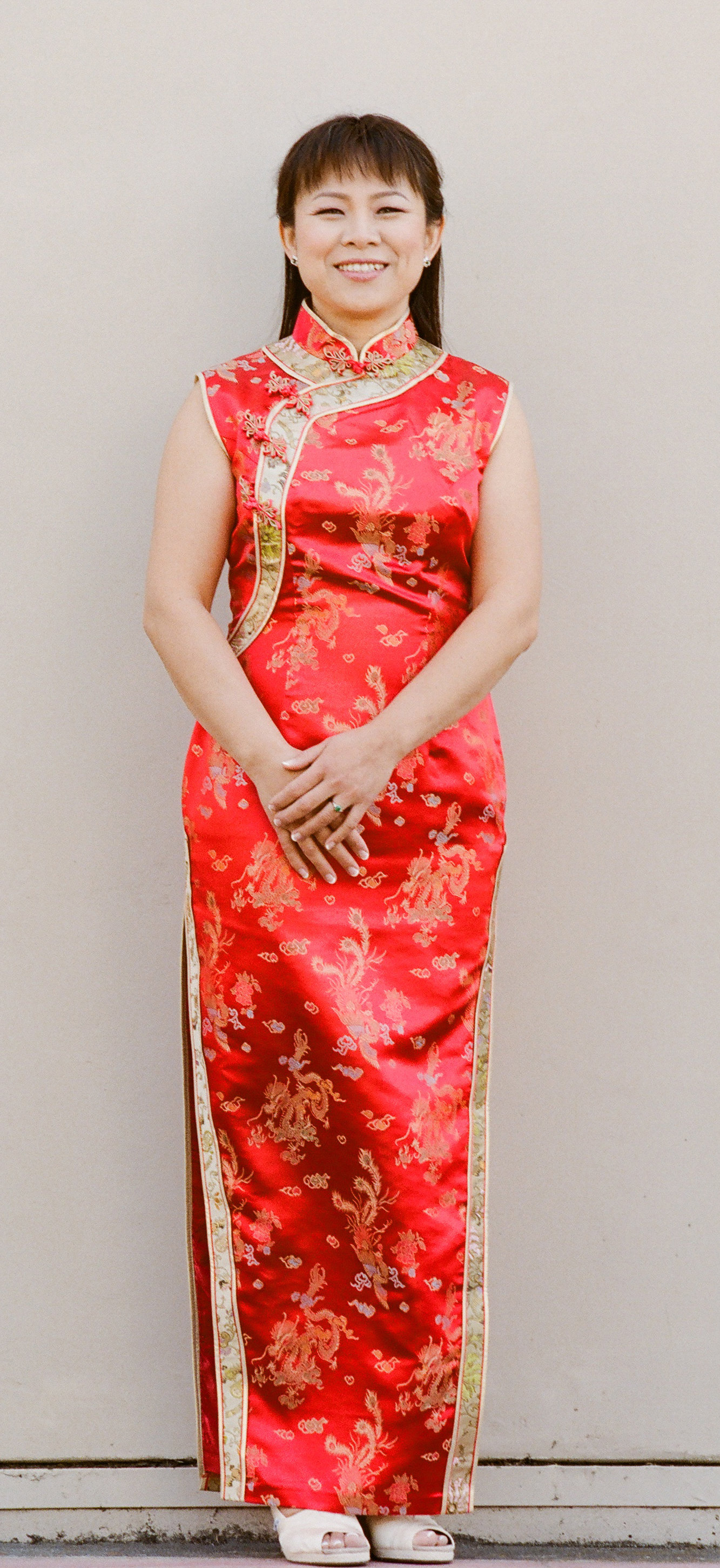 Haoning in Chinese Traditional Dress